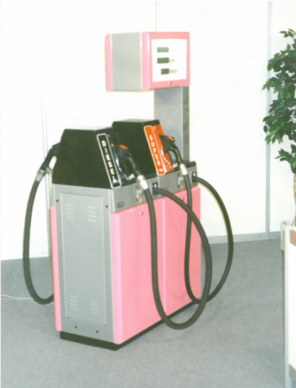 1994 - First ever dispenser made by Benč, s.r.o.