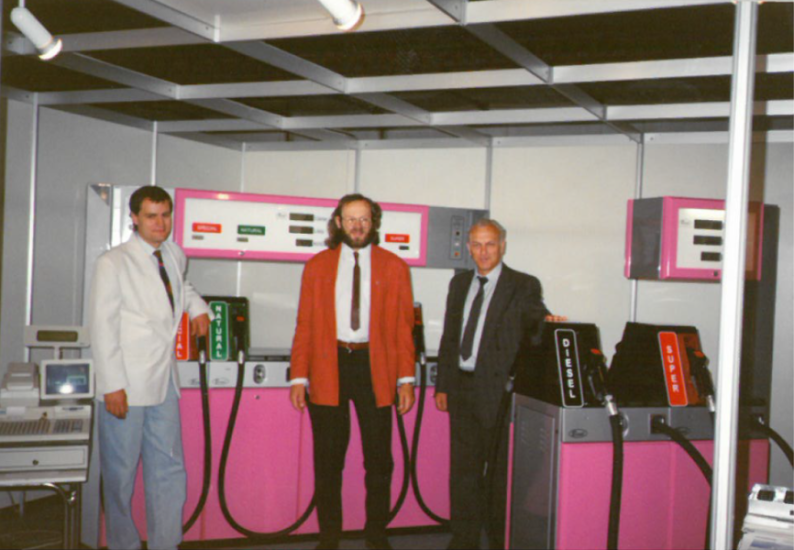 1994 - First dispensers on exhibition