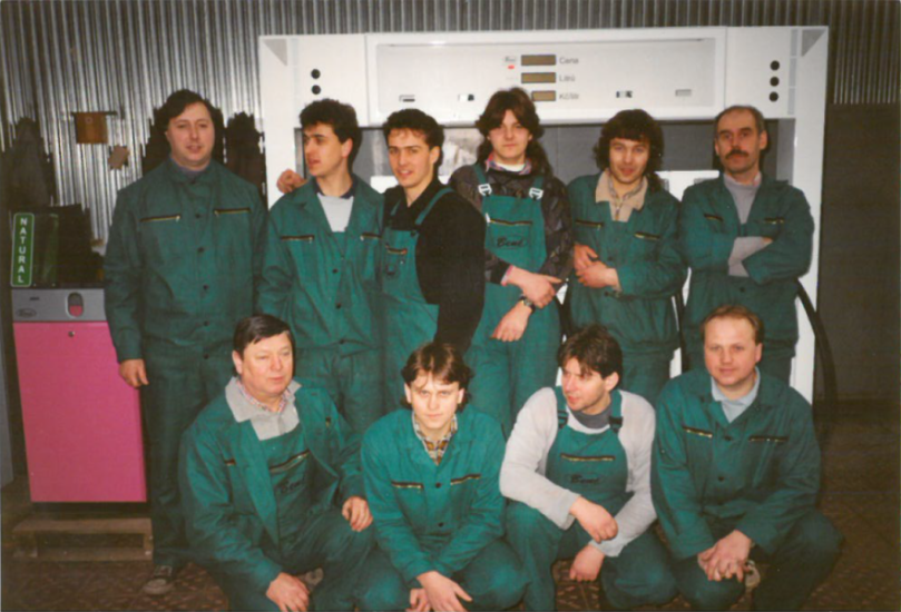 Workers of Benč in 1994