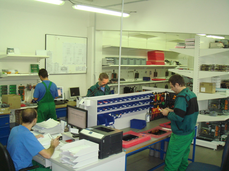 Electro manufacturing department